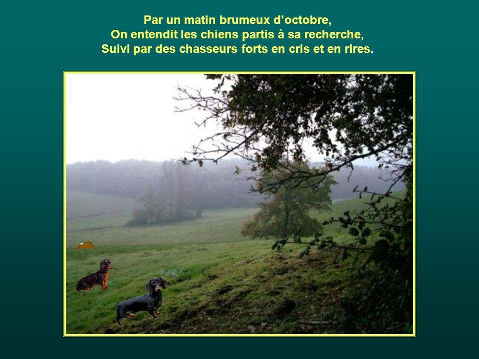 Par un matin brumeux d'octobre,