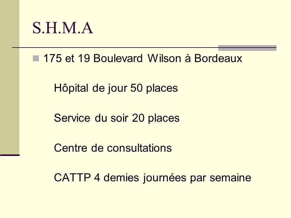 S.H.M.A 175 et 19 Boulevard Wilson à Bordeaux