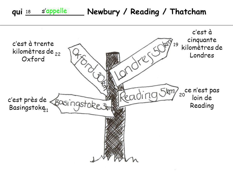 qui ____________ Newbury / Reading / Thatcham