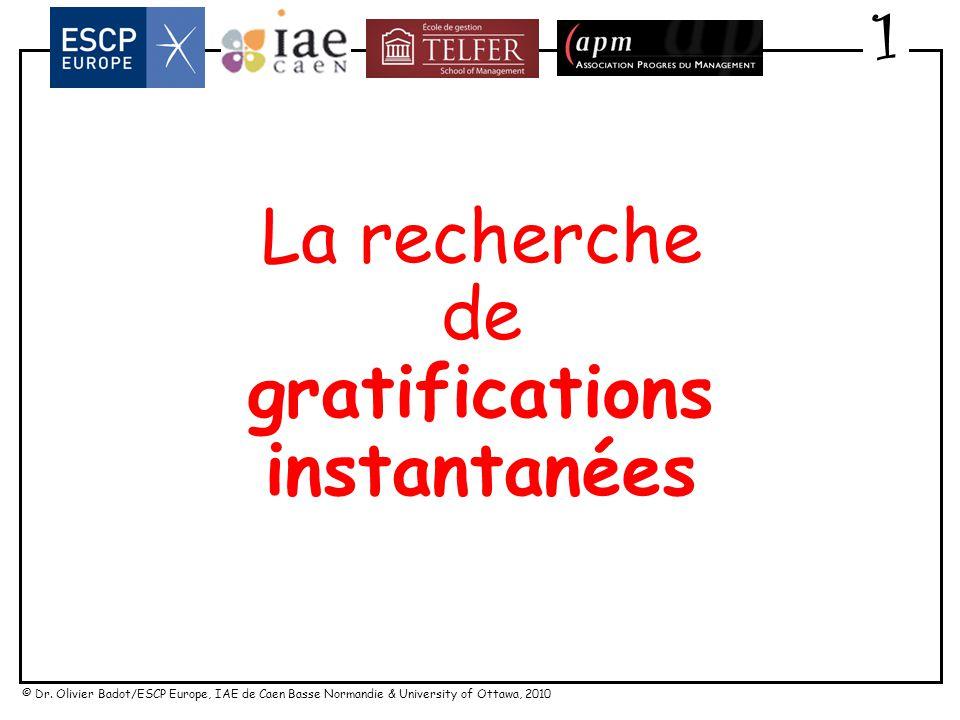 gratifications instantanées