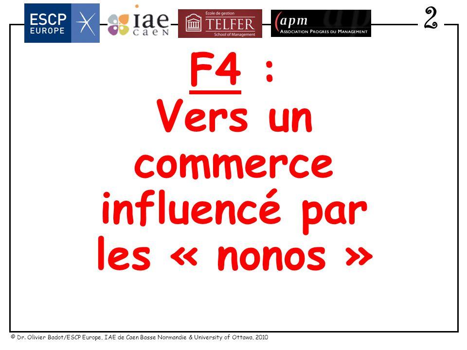 F4 : Vers un commerce influencé par les « nonos »