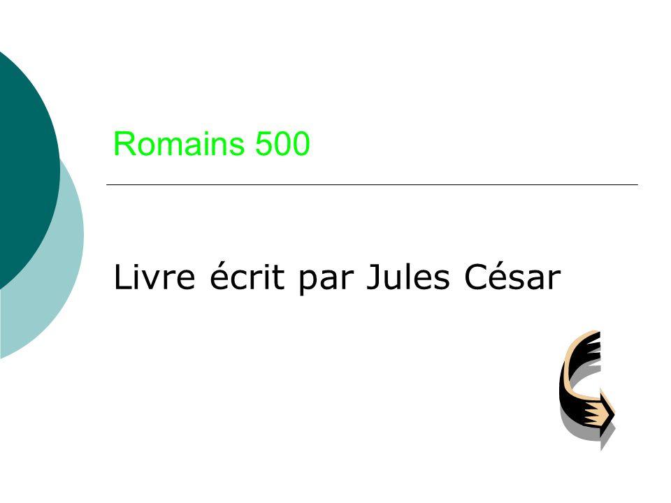 Livre écrit par Jules César