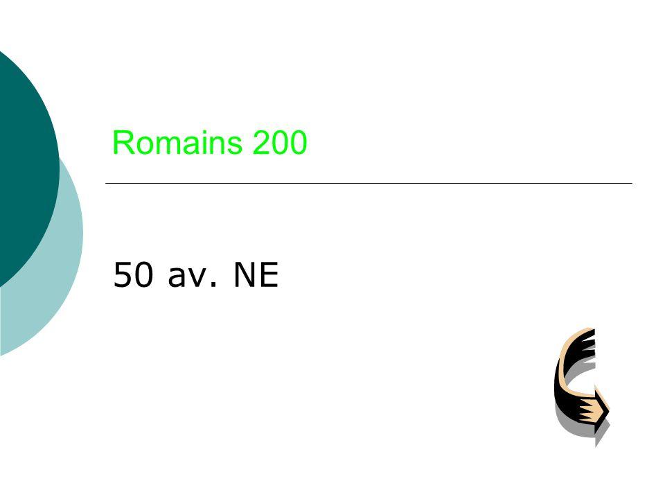 Romains 200 50 av. NE