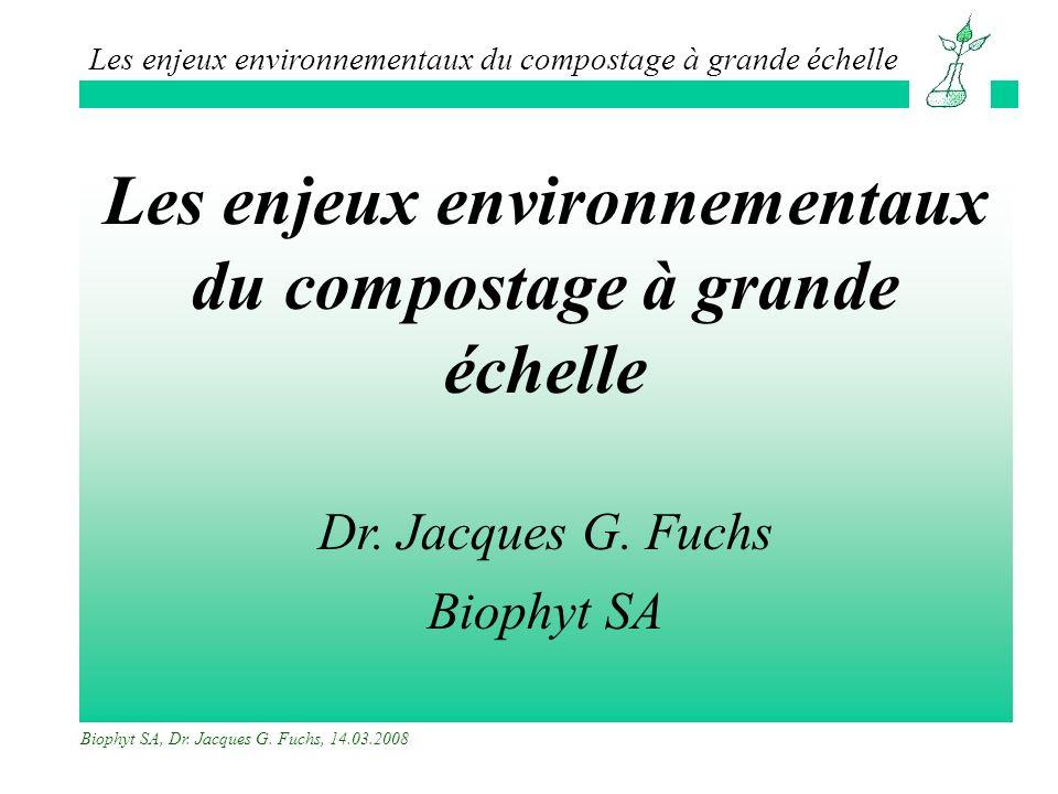 Les enjeux environnementaux du compostage à grande échelle