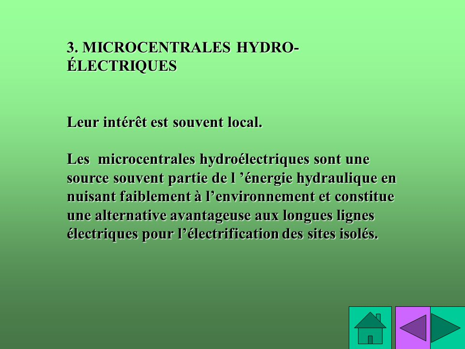 3. MICROCENTRALES HYDRO-