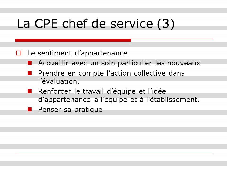 La CPE chef de service (3)