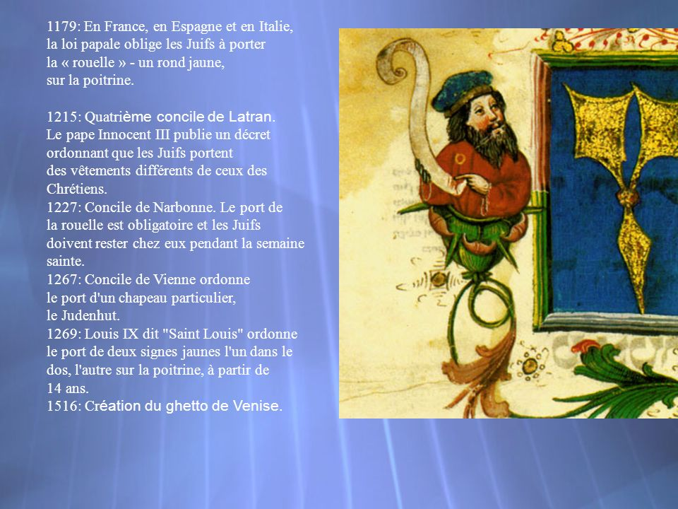 1179: En France, en Espagne et en Italie,