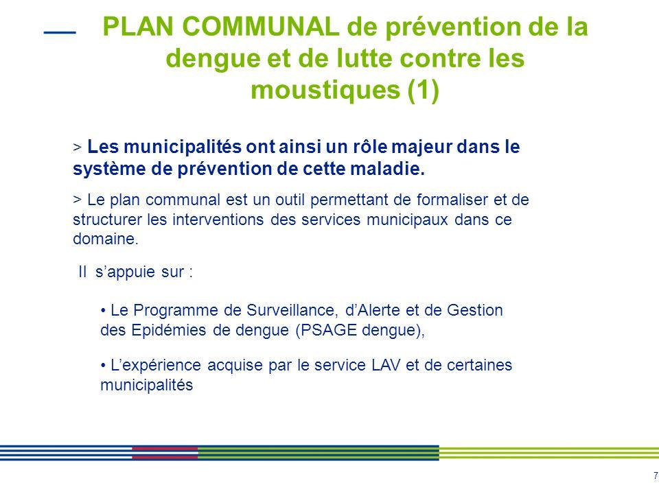 PLAN COMMUNAL de prévention de la dengue et de lutte contre les moustiques (1)