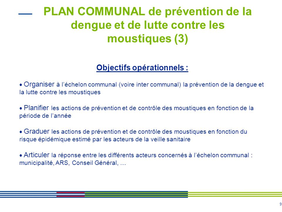 Objectifs opérationnels :