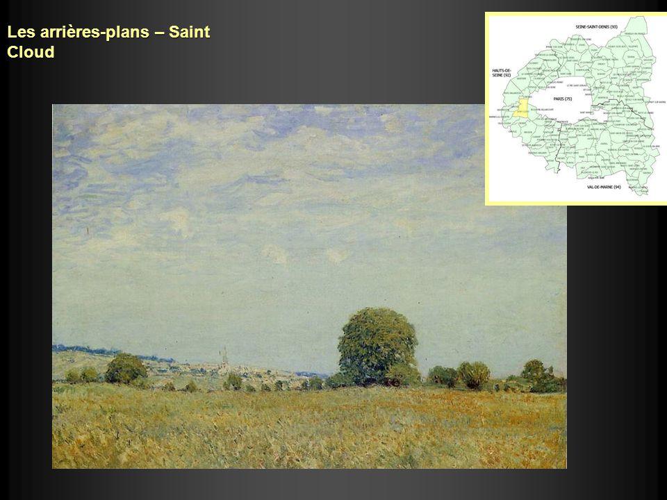 Les arrières-plans – Saint Cloud