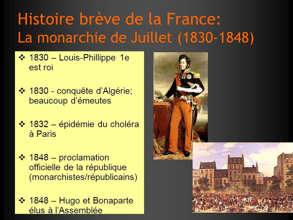 Histoire brève de la France: La monarchie de Juillet (1830-1848)