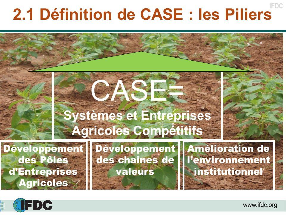 2.1 Définition de CASE : les Piliers