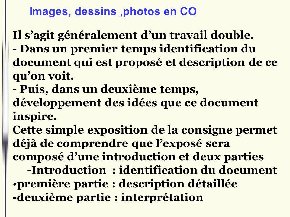 Images, dessins ,photos en CO
