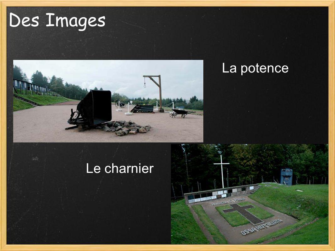 Des Images La potence Le charnier