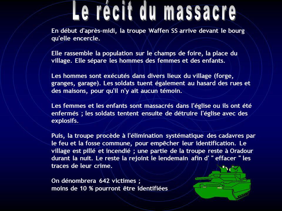Bernard Senier Le récit du massacre.