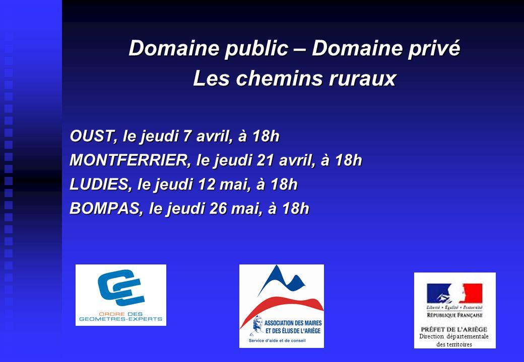 Domaine public – Domaine privé
