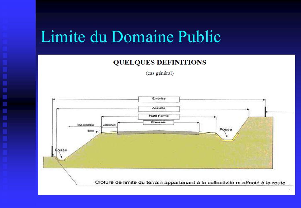 Limite du Domaine Public
