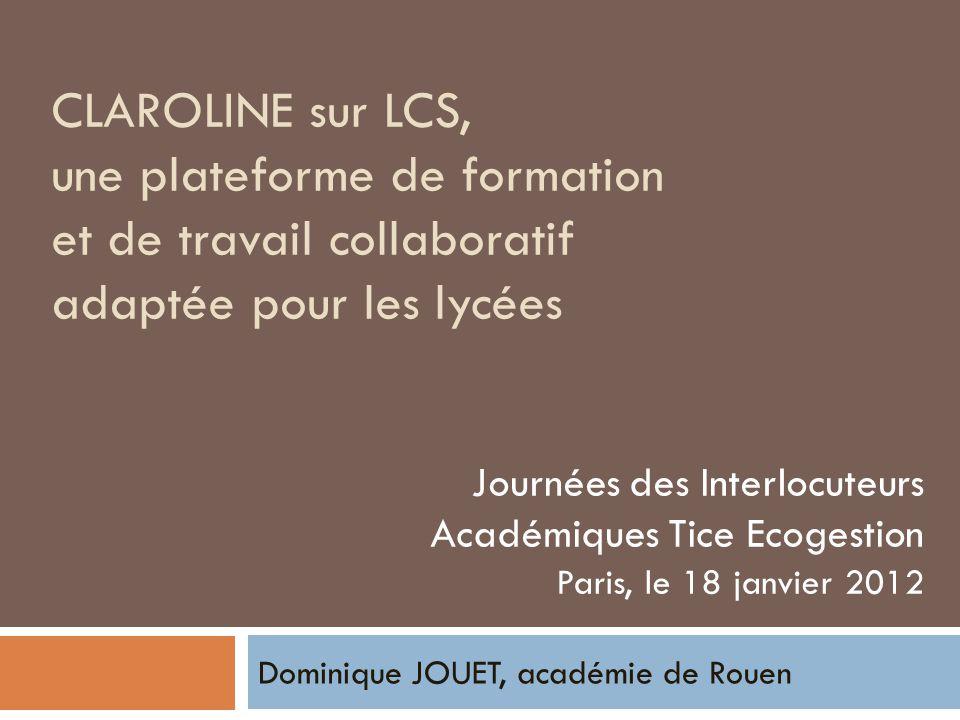 Dominique JOUET, académie de Rouen