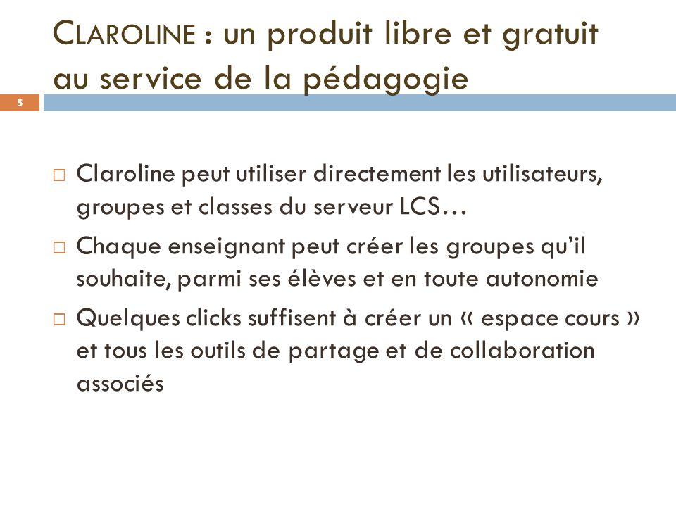 Claroline : un produit libre et gratuit au service de la pédagogie