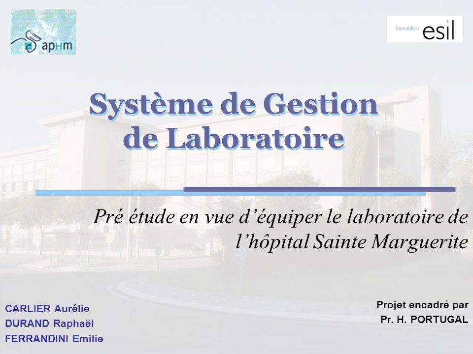 Système de Gestion de Laboratoire