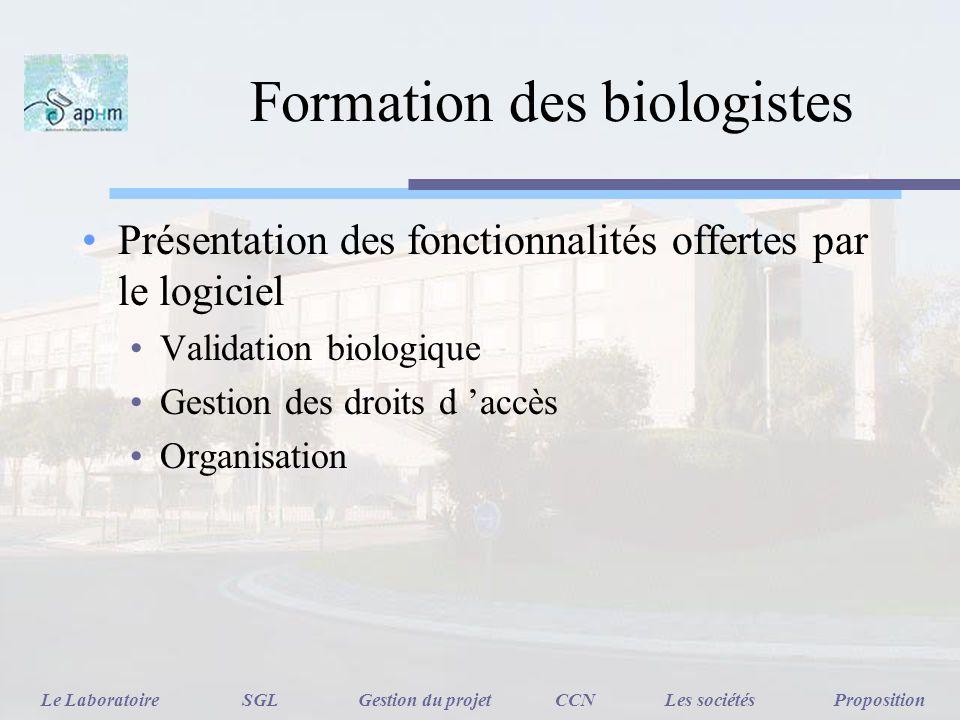 Formation des biologistes