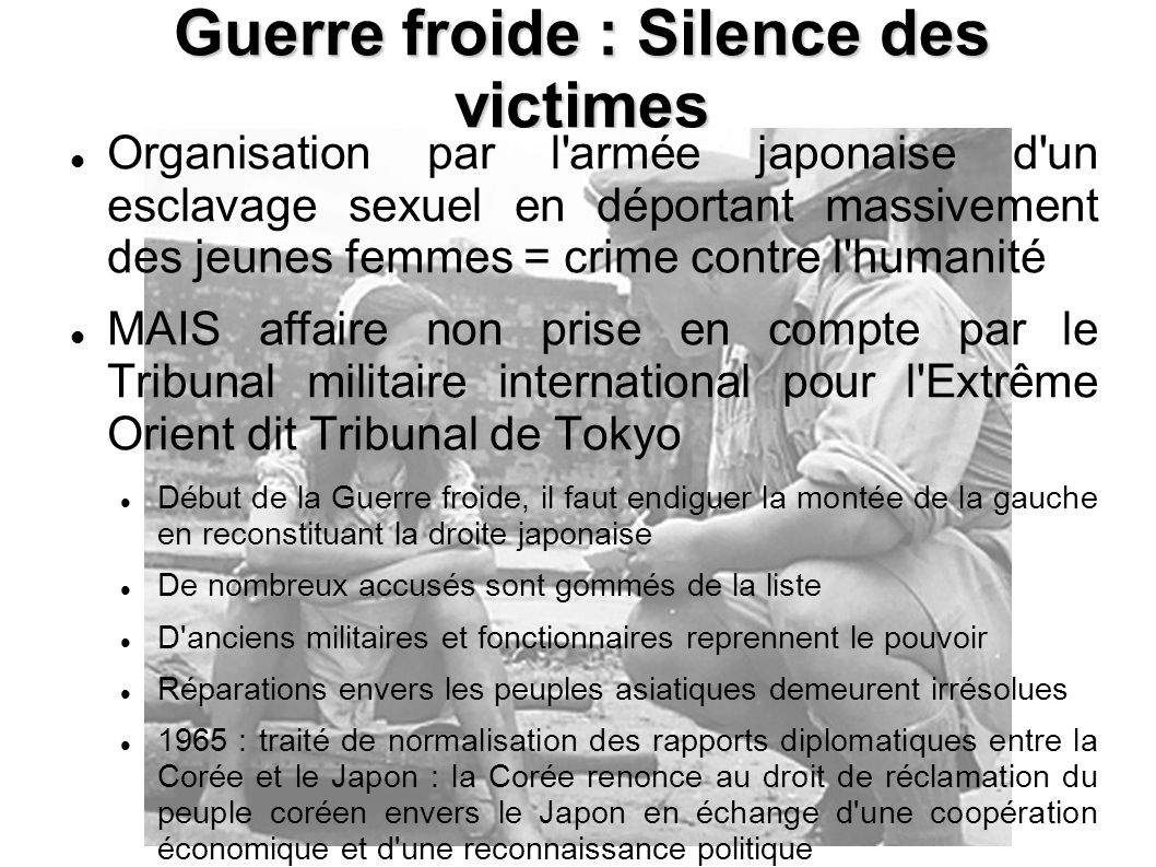 Guerre froide : Silence des victimes