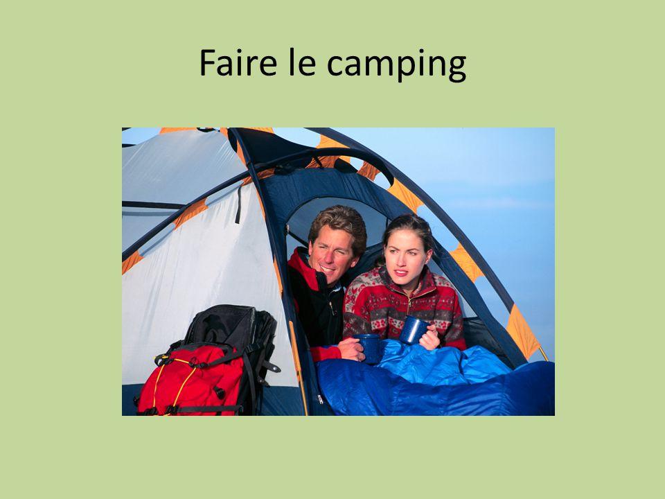 Faire le camping