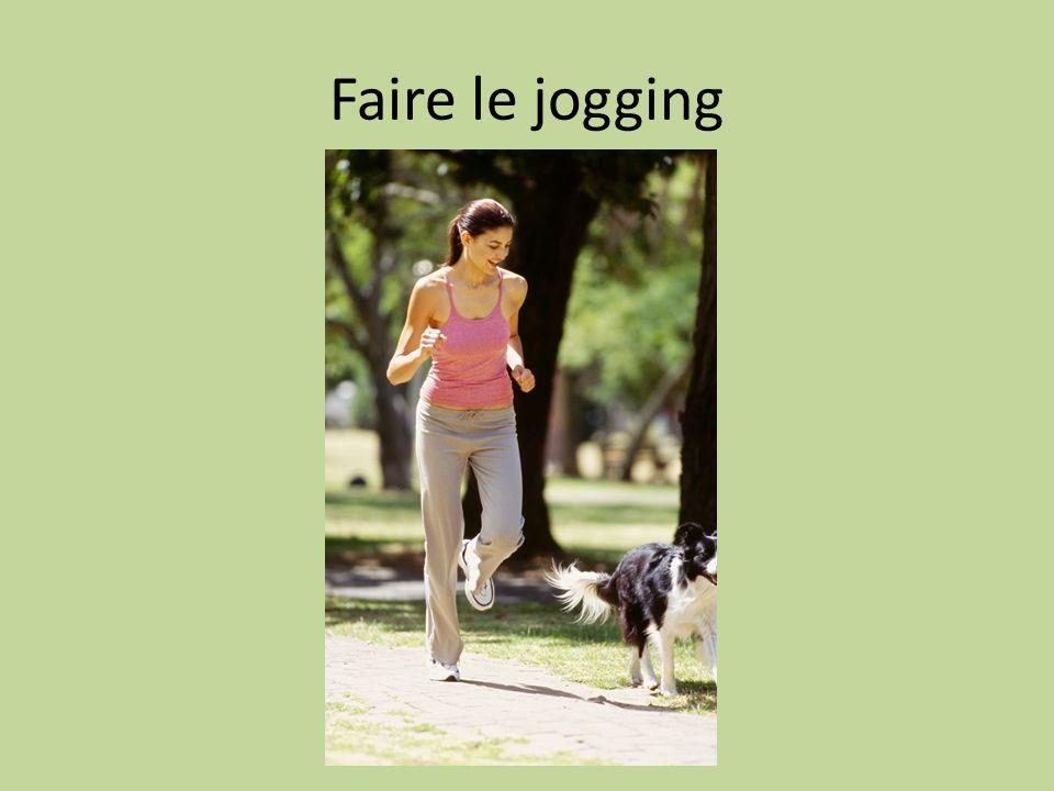 Faire le jogging