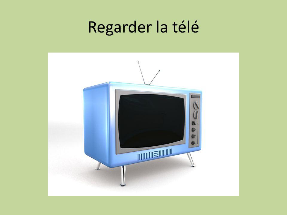 Regarder la télé
