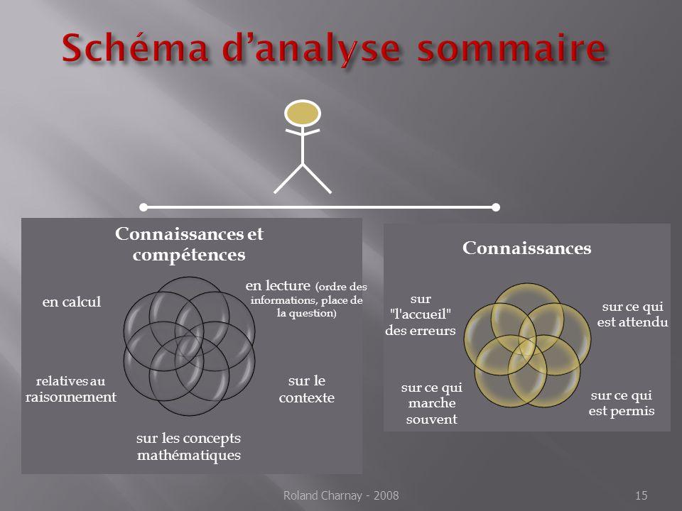 Schéma d'analyse sommaire