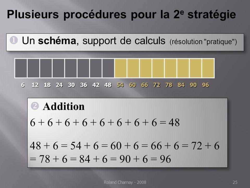 Plusieurs procédures pour la 2e stratégie