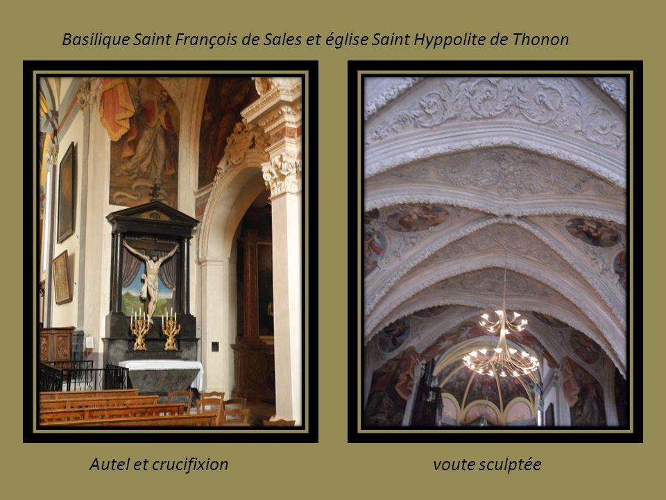 Basilique Saint François de Sales et église Saint Hyppolite de Thonon