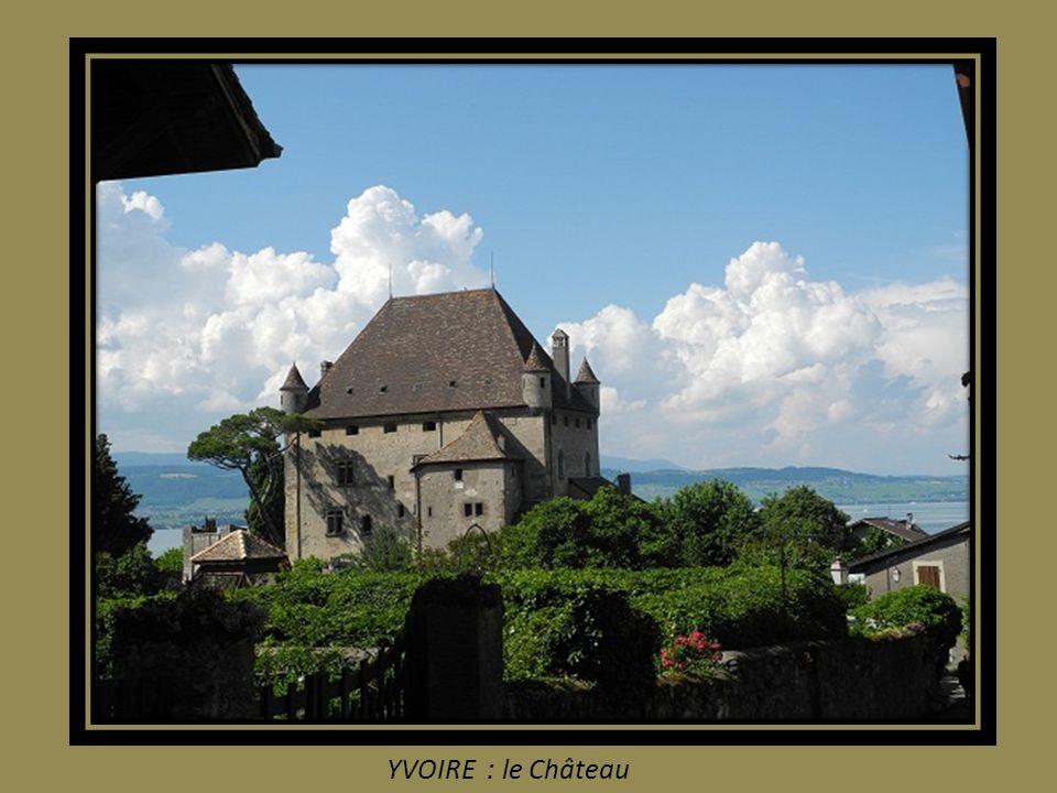 YVOIRE : le Château