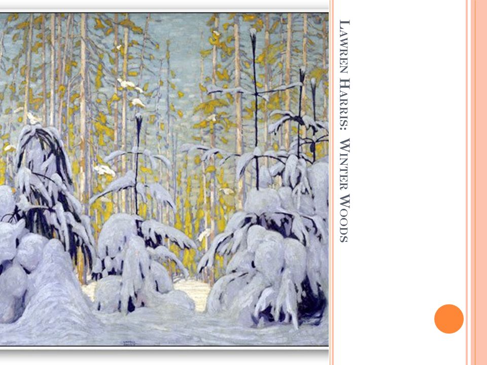 Lawren Harris: Winter Woods