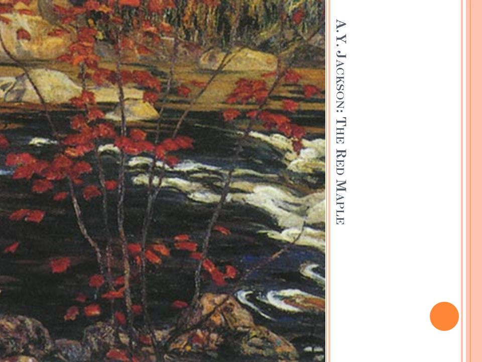 A.Y. Jackson: The Red Maple