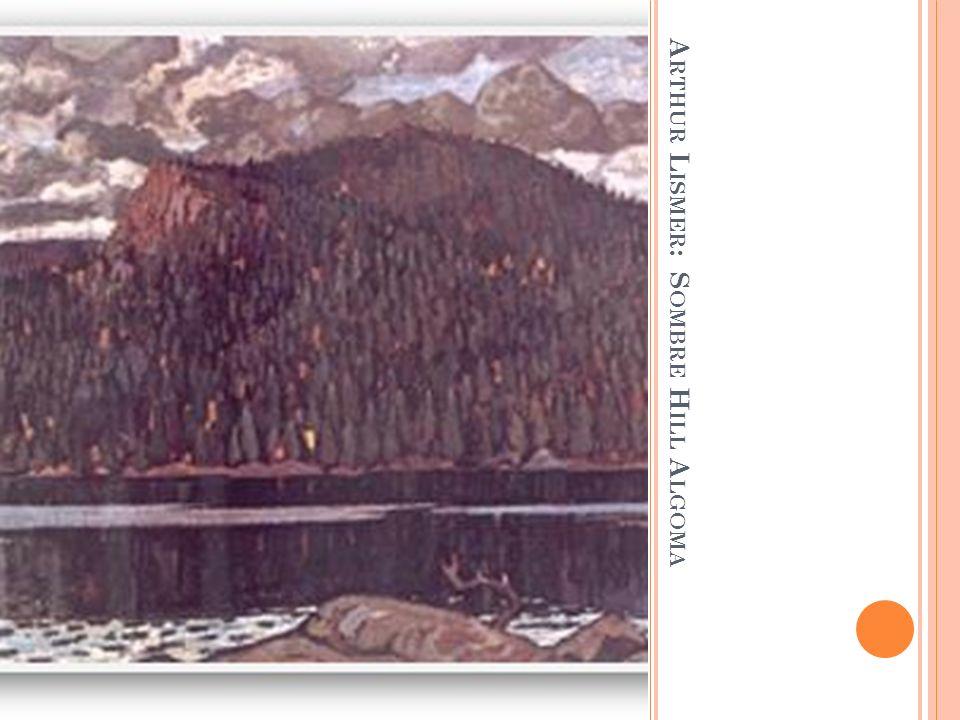 Arthur Lismer: Sombre Hill Algoma