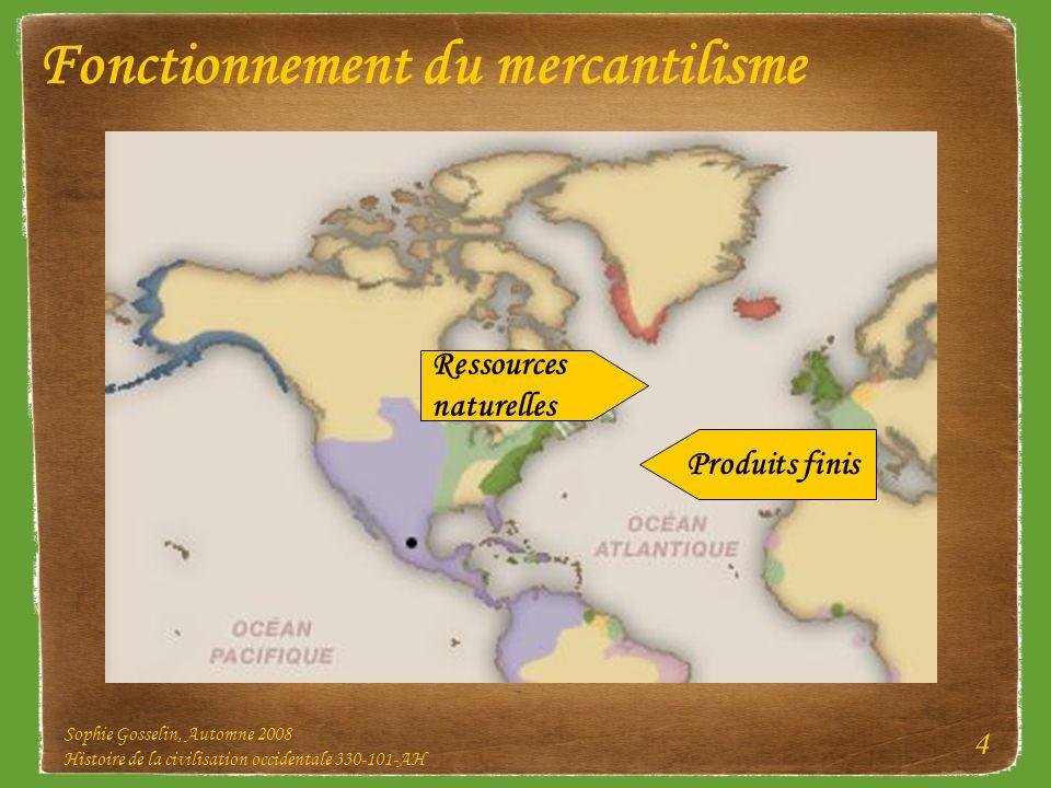 Fonctionnement du mercantilisme