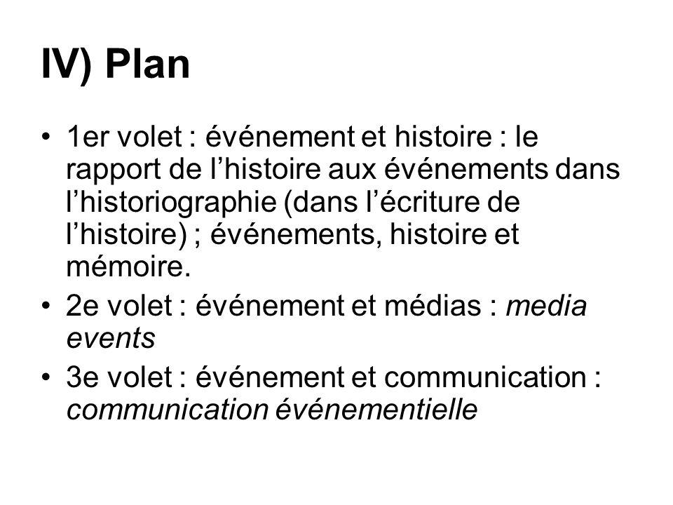 IV) Plan