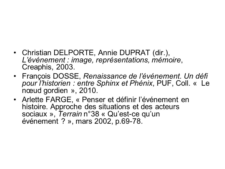 Christian DELPORTE, Annie DUPRAT (dir