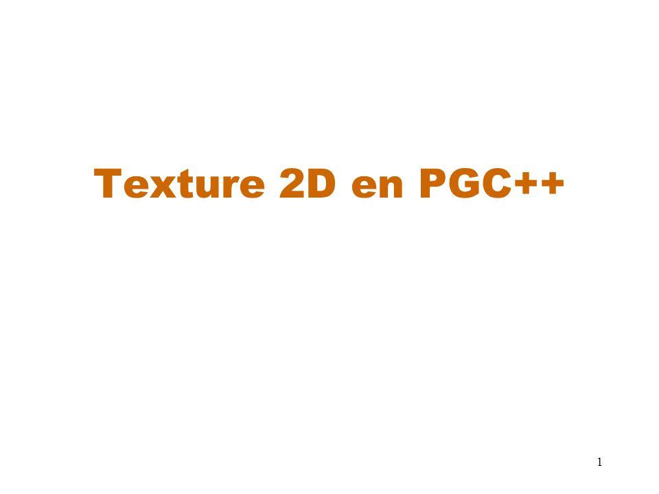 Texture 2D en PGC++