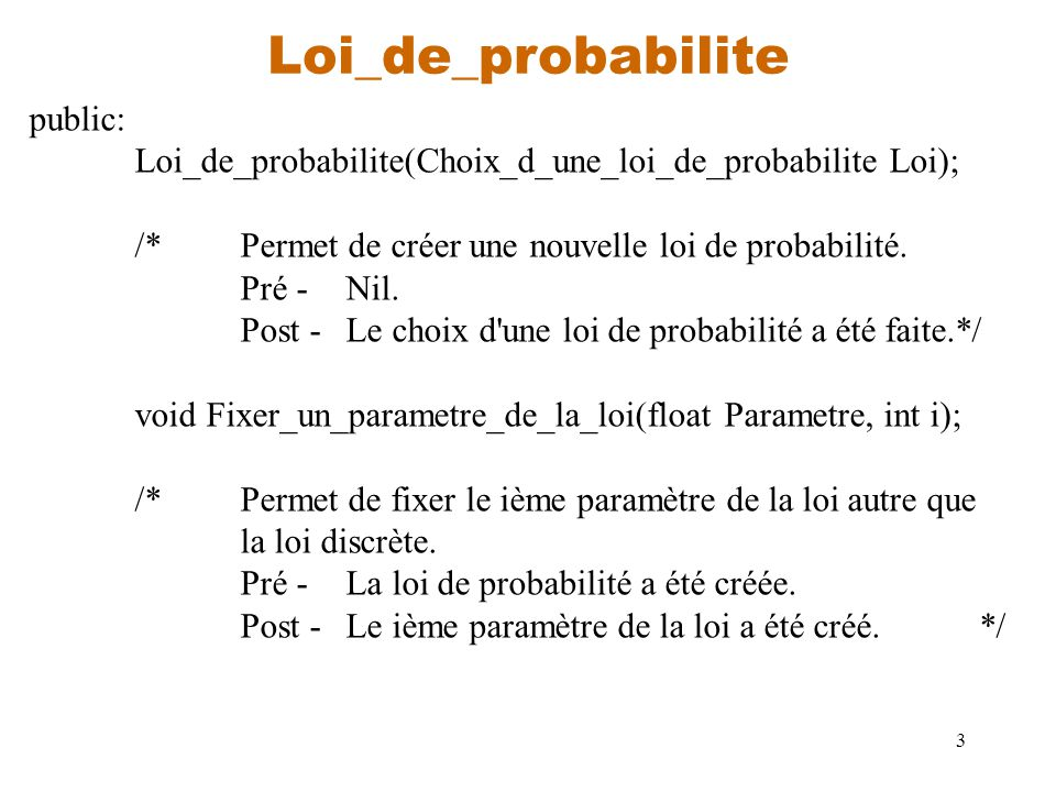 Loi_de_probabilite public:
