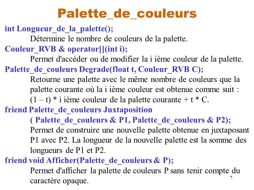 Palette_de_couleurs int Longueur_de_la_palette();