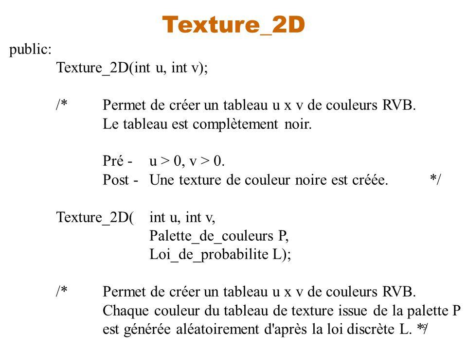 Texture_2D public: Texture_2D(int u, int v);