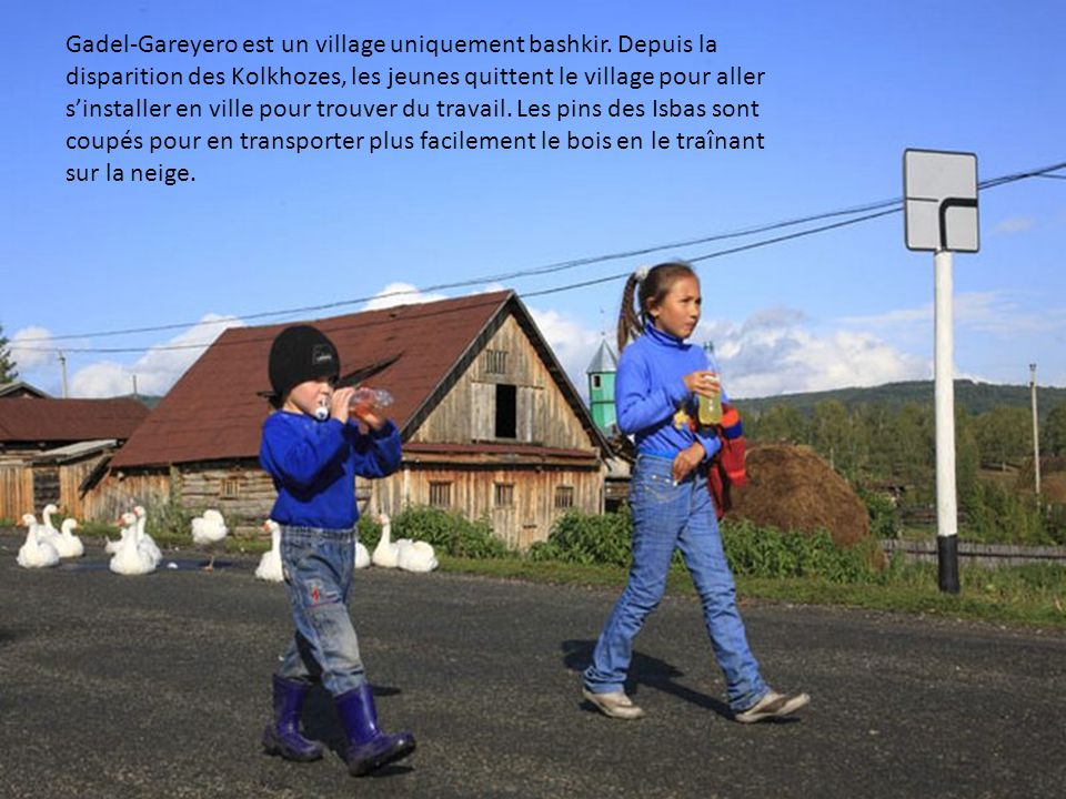 Gadel-Gareyero est un village uniquement bashkir