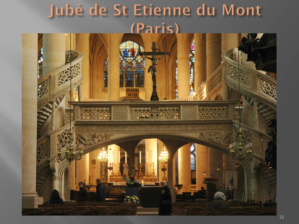 Jubé de St Etienne du Mont (Paris)