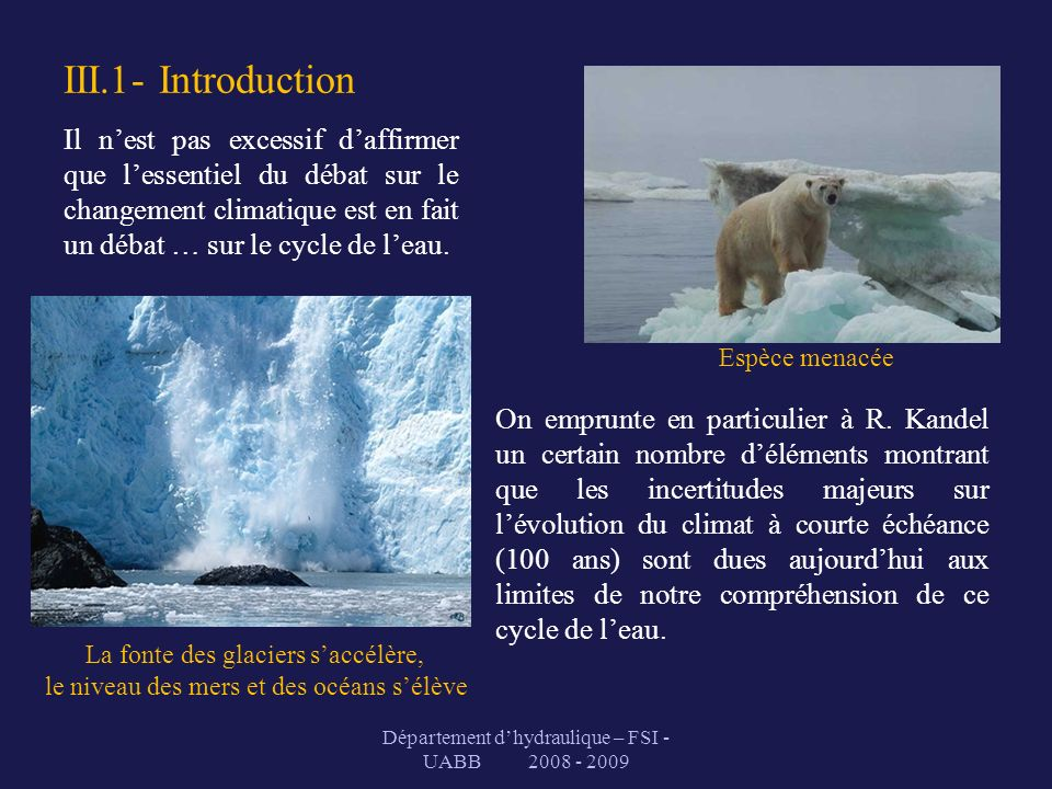 III.1- Introduction