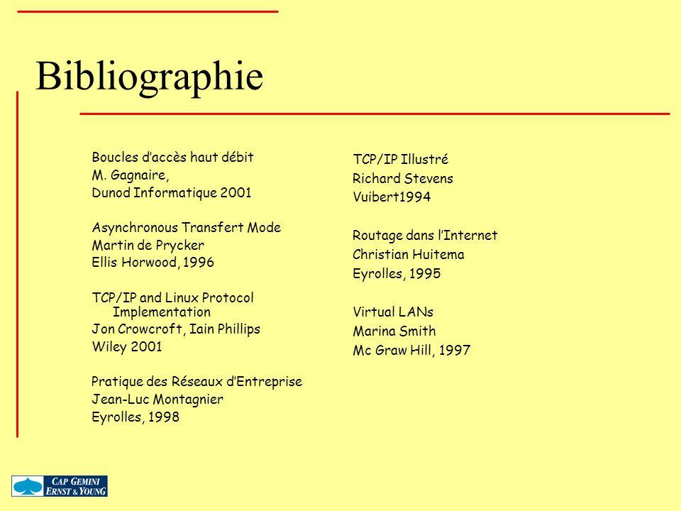 Bibliographie Boucles d'accès haut débit M. Gagnaire,