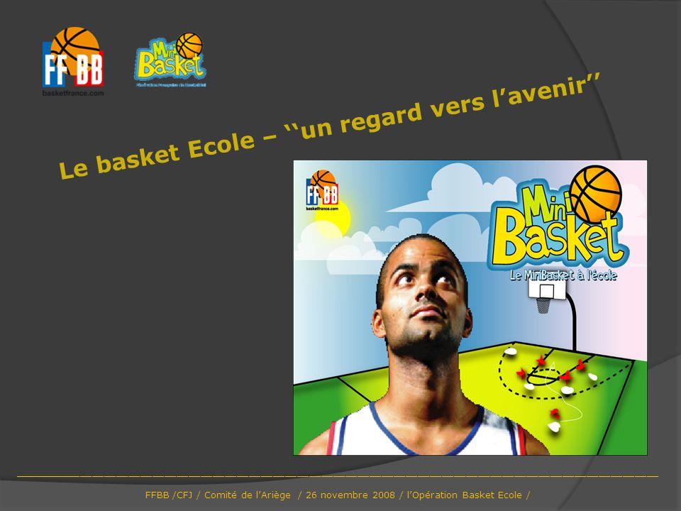 Le basket Ecole – ''un regard vers l'avenir''
