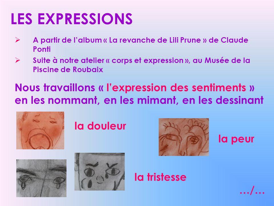 LES EXPRESSIONS A partir de l'album « La revanche de Lili Prune » de Claude Ponti.