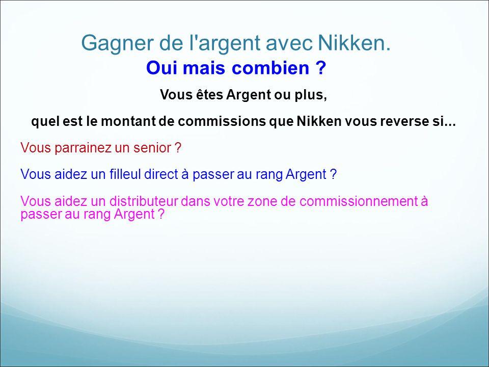 Gagner de l argent avec Nikken.